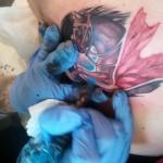 Ascending Koi Tattoo by Trevor Jameus