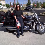 Pcking up my motorcycle 2012